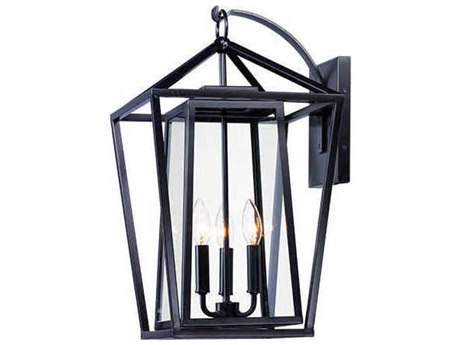Maxim Lighting Artisan Black Outdoor Wall Light MX3176CLBK