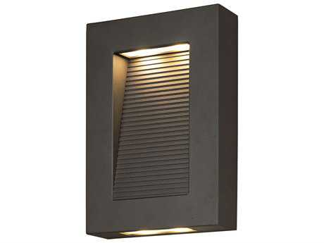 Maxim Lighting Avenue Architectural Bronze 10'' High LED Outdoor Wall Light MX54350ABZ