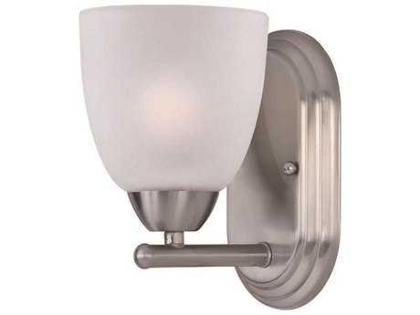 Maxim Lighting Axis Satin Nickel & Frosted Glass Vanity Light MX11311FTSN