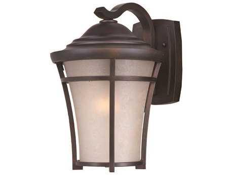 Maxim Lighting Balboa Copper Oxide & Laace Glass 12'' Wide Incandescent Outdoor Wall Light MX3806LACO