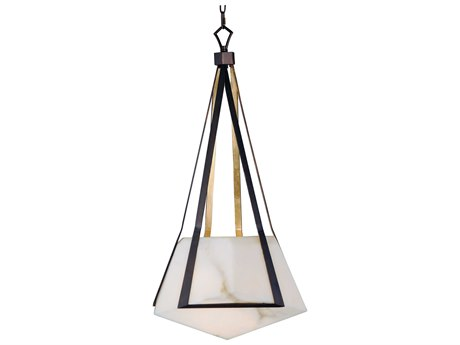 Maxim Lighting Boulder Bronze Gilt / Gold  20'' Wide LED Pendant Light MX30144BZGTGLD