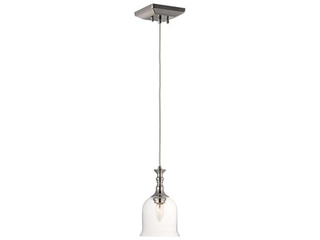 Maxim Lighting Centennial Polished Nickel  6'' Wide  Mini-Pendant Light MX20471CLPN