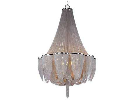 Maxim Lighting Chantilly Polished Nickel 14-Light 34 Wide Grand Chandelier MX21467NKPN