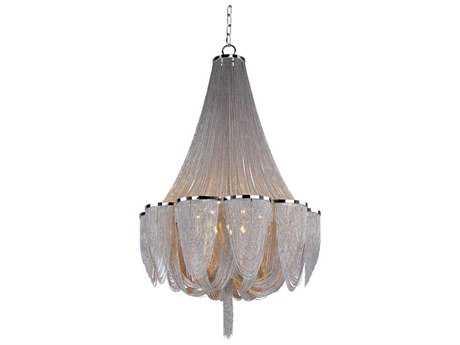Maxim Lighting Chantilly Polished Nickel 14-Light 42 Wide Grand Chandelier MX21468NKPN
