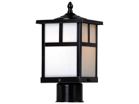 Maxim Lighting Coldwater Black  6'' Wide  Outdoor Post Light