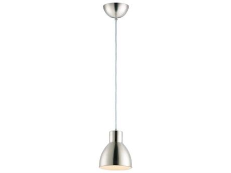 Maxim Lighting Cora Satin Nickel  7'' Wide  Mini-Pendant Light