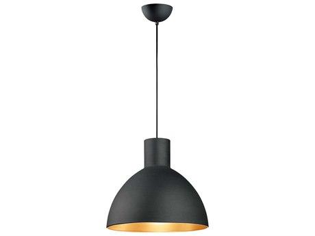 Maxim Lighting Cora Black / Gold  20'' Wide  Pendant Light