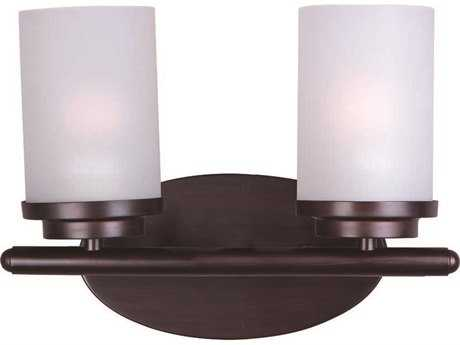 Maxim Lighting Corona Oil Rubbed Bronze Two-Light Vanity Light MX10212FTOI