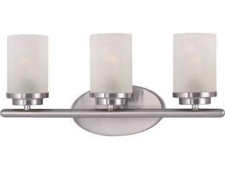 Maxim Lighting Corona Satin Nickel Three-Light Vanity Light