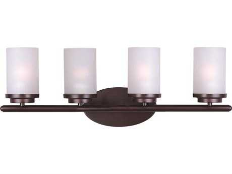 Maxim Lighting Corona Oil Rubbed Bronze Four-Light Vanity Light MX10214FTOI