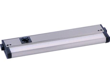 Maxim Lighting CounterMax MX-L-120-3K Basic Satin Nickel  12'' Wide LED Cabinet Light MX89893SN