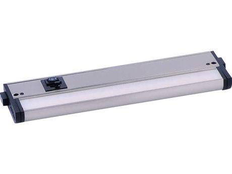 Maxim Lighting CounterMax MX-L-120-3K Satin Nickel  12'' Wide LED Cabinet Light MX89993SN