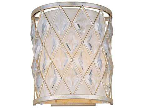 Maxim Lighting Diamond Golden Silver Two-Light Wall Sconce MX21458OFGS