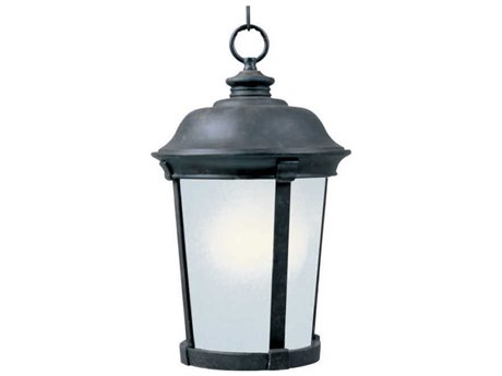 Maxim Lighting Dover  Bronze  12'' Wide LED Outdoor Hanging Light