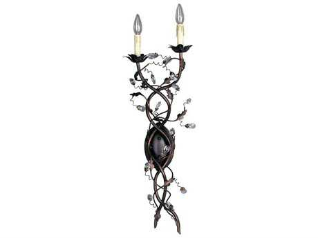 Maxim Lighting Elegante Oil Rubbed Bronze Two-Light Wall Sconce MX2858OI