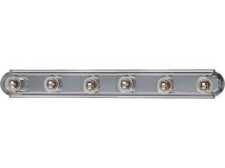 Maxim Lighting Essentials Satin Nickel Six-Light Vanity Light