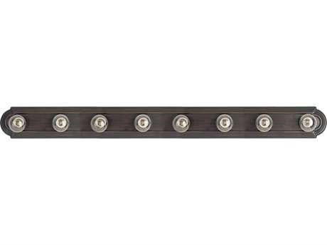 Maxim Lighting Essentials Oil Rubbed Bronze Eight-Light Vanity Light MX7128OI