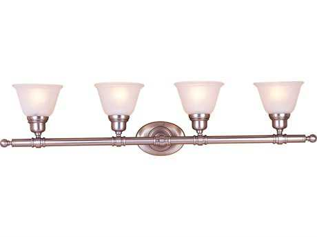 Maxim Lighting Essentials Satin Nickel Four-Light Vanity Light