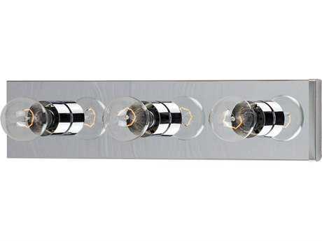 Maxim Lighting Essentials-445x Polished Chrome Three-Lights Vanity Light