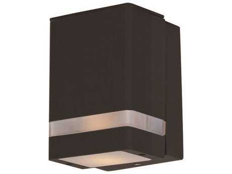 Maxim Lighting Lightray LED Architectural Bronze Outdoor Wall Light MX86128ABZ