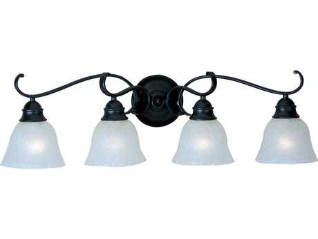 Maxim Lighting Linda Black Four-Light Vanity Light MX11811ICBK