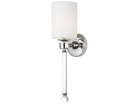 Maxim Lighting Lucent Polished Nickel  5'' Wide  Vanity Light MX16109WTCLPN