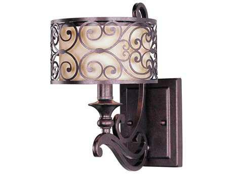 Maxim Lighting Mondrian Umber Bronze Wall Sconce MX21152WHUB
