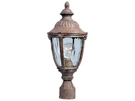 Maxim Lighting Morrow Bay DC Earth Tone & Water Glass 8.5'' Wide Incandescent Outdoor Post Light MX3180WGET