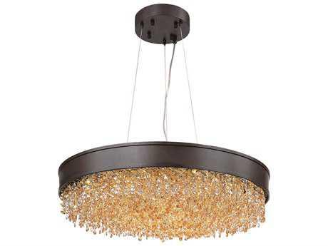 Maxim Lighting Mystic Bronze 24'' Wide Pendant Light MX39655SHBZ