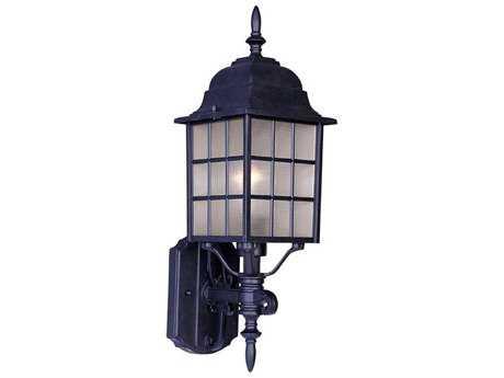 Maxim Lighting North Church Black Outdoor Wall Light MX1050BK