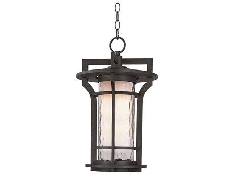 Maxim Lighting Oakville  Black Oxide  12'' Wide LED Outdoor Hanging Light MX65788WGBO