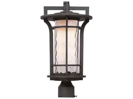 Maxim Lighting Oakville  Black Oxide  10'' Wide LED Outdoor Post Light MX65780WGBO
