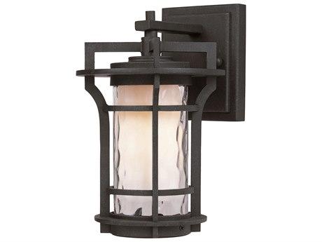 Maxim Lighting Oakville  Black Oxide  6'' Wide LED Outdoor Wall Light MX65782WGBO