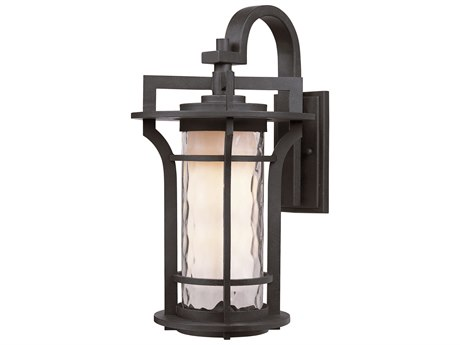 Maxim Lighting Oakville  Black Oxide  8'' Wide LED Outdoor Wall Light MX65784WGBO