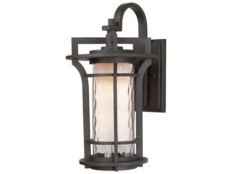 Maxim Lighting Oakville  Black Oxide  10'' Wide LED Outdoor Wall Light MX65785WGBO