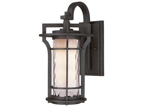 Maxim Lighting Oakville  Black Oxide  12'' Wide LED Outdoor Wall Light MX65786WGBO