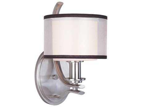 Maxim Lighting Orion Satin Nickel Wall Sconce MX23038SWSN