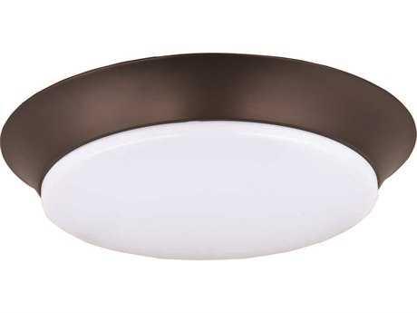Maxim Lighting Profile Bronze 14'' Wide LED Flush Mount Light