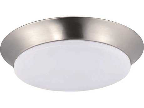 Maxim Lighting Profile Satin Nickel 14'' Wide LED Flush Mount Light