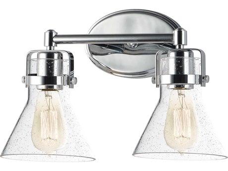 Maxim Lighting Seafarer Polished Chrome Two-Light 15'' Wide  Vanity Light MX26112CDPC