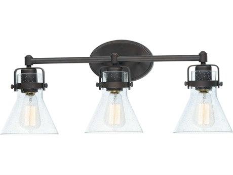 Maxim Lighting Seafarer Oil Rubbed Bronze Three-Light 24'' Wide  Vanity Light MX26113CDOI