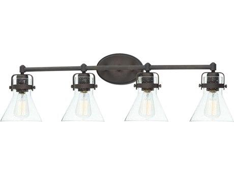 Maxim Lighting Seafarer Oil Rubbed Bronze Four-Light 33'' Wide  Vanity Light MX26114CDOI
