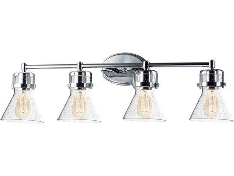 Maxim Lighting Seafarer Polished Chrome Four-Light 33'' Wide  Vanity Light MX26114CDPC