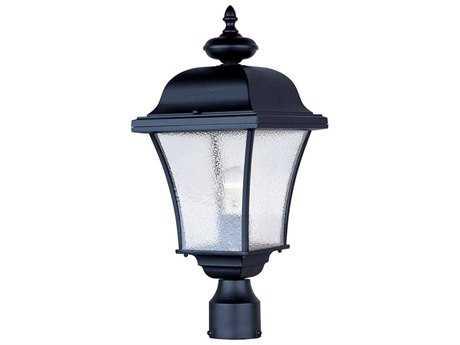 Maxim Lighting Senator Black Outdoor Post Light