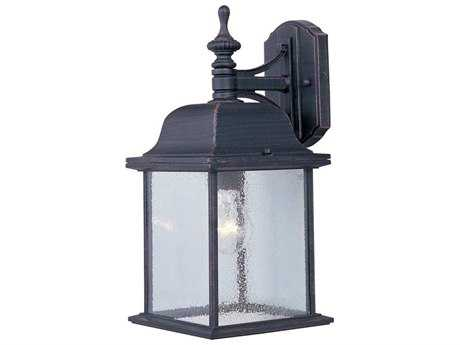 Maxim Lighting Senator Rust Patina Outdoor Wall Light MX1056RP