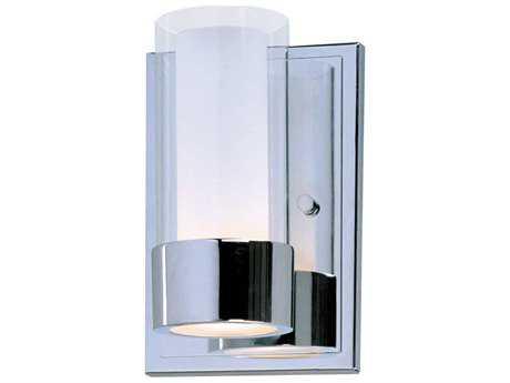 Maxim Lighting Silo Polished Chrome Vanity Light MX23071CLFTPC