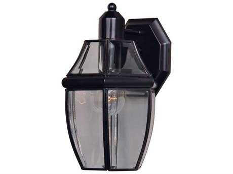 Maxim Lighting South Park Burnished & Clear Glass 7'' Wide Outdoor Wall Light MX4010CLBU