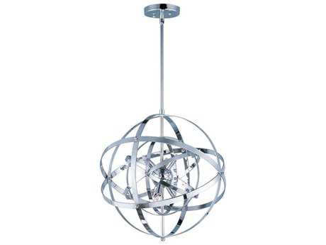 Maxim Lighting Sputnik Polished Chrome Six-Light 19'' Wide Pendant Light