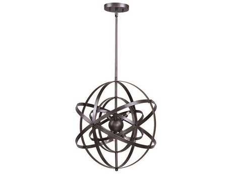 Maxim Lighting Sputnik Bronze Rupert Nine-Light 25'' Wide Pendant Light MX25133BR