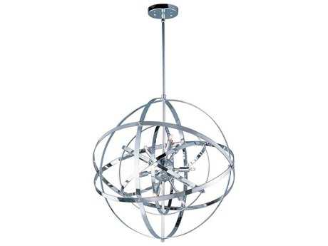Maxim Lighting Sputnik Polished Chrome Nine-Light 25'' Wide Pendant Light MX25133PC